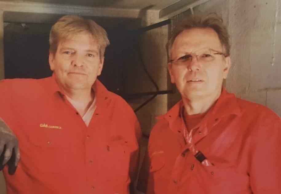 Gascontrol Team - Mirco und Hartmut