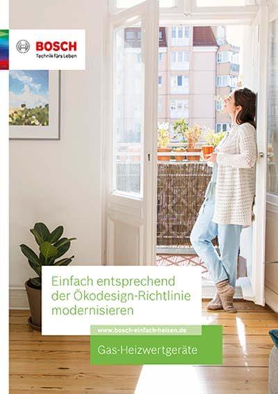 Bosch Gas-Heizwertgeräte PDF Download