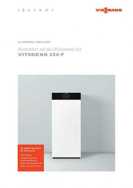 Viessmann VITODENS 333 F PDF Download