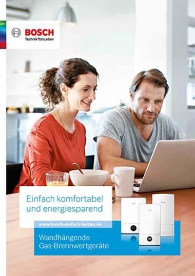 Bosch Wandhängende Gas Brennwertgeräte PDF Download